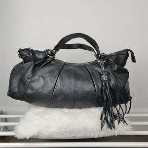 💜 gently used 💜 Italian quality leather bag